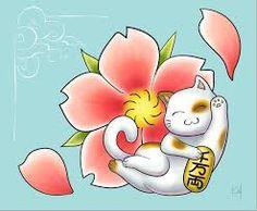 Resultado de imagem para maneki neko wallpaper