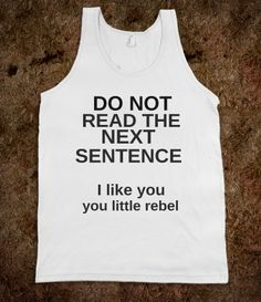 ya little rebel, you..