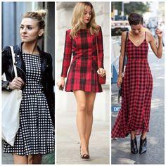 como usar xadrez vestidos 4