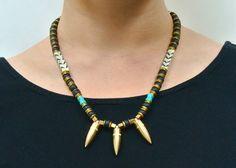 Boho Bullet Necklace