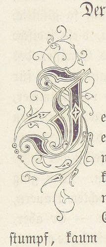 Image taken from page 617 of 'Die Maitressenwirthschaft in Frankreich unter Ludwig XIV. Calligraphy Letters, Typography Letters, Lettering Styles, Hand Lettering, Lettering Tutorial, Illuminated Letters, Illuminated Manuscript, British Library, Motifs Art Nouveau
