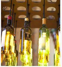 candeeiro de garrafas de vidro - Pesquisa do Google