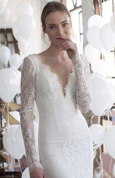 Wedding dress idea; Featured: Noya Bridal