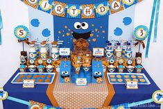 "Photo 4 of 72: Cookies Street / Sesame Street / Birthday ""Cookies Street Birthday Party"" 