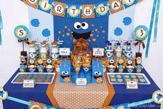 """Photo 4 of 72: Cookies Street / Sesame Street / Birthday """"Cookies Street…"""