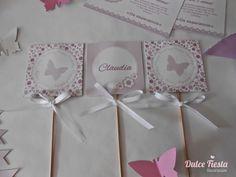 Kit imprimible Mariposas #fiestasinfantiles