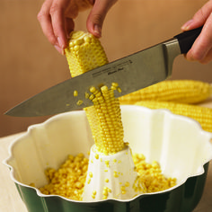 How to Easily Cut Corn Off the Cob with No Mess - YouveGotToTasteThis.MyRecipes.com