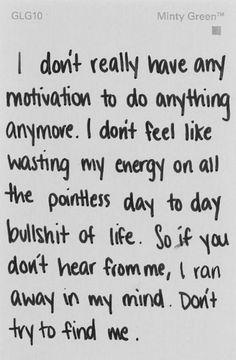 Unmotivated life quotes quotes sad hurt depressed sadness sad quote sad quotes