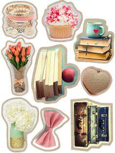 Sweet and Blink #sticker#printable#girlstuff