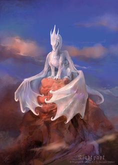 Hello everyone! Let me introduce Silber, a beautiful and mysterious Dragon character by *Maeix2. This painting was a bit of a challenge, since he was painted based solely on descriptions. Speedy sp...