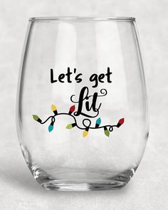 36d01f6cba4 Happy Glamper Wine Glass, Glamping, Happy Campers, Stemless Wine ...