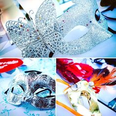 I will admit...when I saw the masquerade masks come out for the reception at my Athens, GA State Botanical Gardens wedding last weekend, I didn't know what to expect. But let me tell you something...that was hands down the BEST party I have been to! What a blast! Brides, if you are trying to think of a way to get your guests motivated to boogie down and have fun, I highly recommend you think about this. Stay tuned for more sneak peeks of the party, and tell me your other fun reception ideas…
