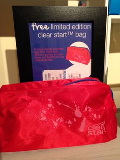 Stocking stuffer: free bag with samples when you spend £20 on Clean Start.