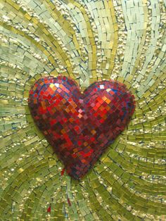 My baby and I share everything... What an amazing feeling, to love someone sooo much, to connect in every way :))).... heart by mosaic studio bee