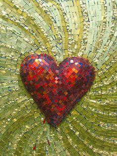 heart mosaic ❤