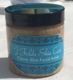 Natural Face Scrub | Classic Man Products | Oatmeal Cleanser & Exfoliant