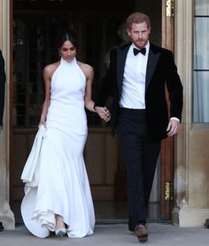 Slide 32 Of The Newly Married Duke And Ss Sus Meghan Markle Prince Harry Leaving Windsor Castle After Their Wedding To Attend An Evening