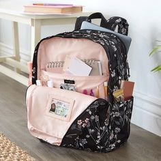 The Lighten Up Grand Backpack is the bag that never goes out of style! This timeless silhouette is spacious yet organized with over 10 pockets to help you know where your every essential is at all times. Cute Backpacks For School, Cute School Bags, Girl Backpacks, Packing List Beach, Backpack Organization, College Bags, School Accessories, Backpack For Teens, Back To School Supplies