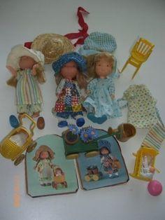 More Holly Hobbie ♥ Sarah Kay, Childhood Games, My Childhood Memories, Vintage Barbie, Vintage Dolls, Raggy Dolls, Beautiful Barbie Dolls, Holly Hobbie, Old Toys