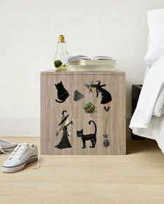 Dorm Room Accessories, Kitchen Accessories, Cat Stickers, Funny Stickers, Print Store, Gifts For Teens, Birthday Cards, Witch, Fine Art Prints