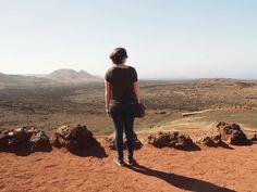 National Park Timanfaya, Lanzarote, Canary Islands.