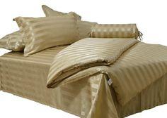 ColourSilk 100% Silk Flat Sheet Golden Strape Jacquard Pattern: 2-038 - http://aluxurybed.com/product/coloursilk-100-silk-flat-sheet-golden-strape-jacquard-pattern-2-038-2/