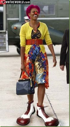 The world sees michelle obama like this....