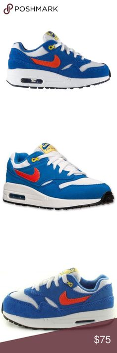 Boys Nike Air Max Excellent condition. No major flaws. Pet and smoke free home. Nike Shoes Sneakers