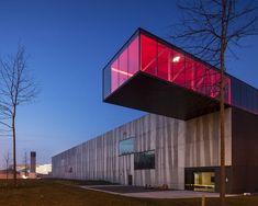 Enjoy Concrete HQ | Govaert & Vanhoutte Architects; Photo: Tim van de Velde | Archinect
