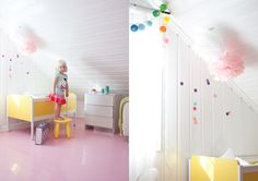 Ifra Lahell: Pink floors and yellow