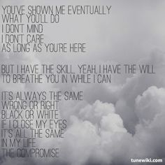 """-- #LyricArt for """"All The Same"""" by Sick Puppies"""