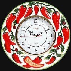 Chili Pepper Pendulum Clock By Fudo Http Www Amazon Com