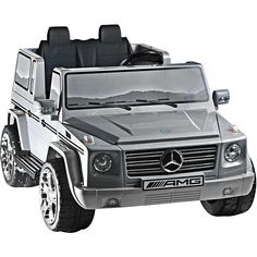 Two-seater 12V Mercedes Benz G55 AMG Ride-on