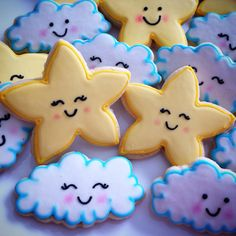 Festa no céu by Vanilla Art Cookies