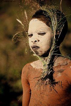 Africa - Ethiopia / Surma boy