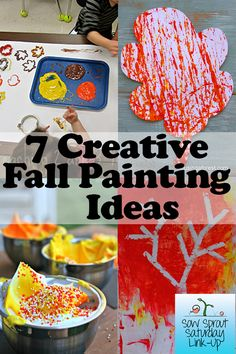 Fun round up of painting ideas for Fall!