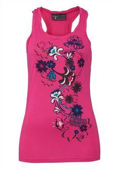 Chiemsee Tanktop Glow, Tank Tops, Garden, Women, Fashion, Moda, Halter Tops, Garten, Fashion Styles