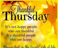 Thankful Thursday Look On The Bright Side Of Life