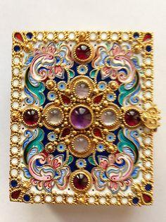 ornament         складень из серебра