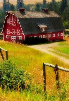 old farm barn country living Farm Barn, Old Farm, Country Barns, Country Life, Country Living, Barn Living, Country Roads, Living Room, Big Red Barn