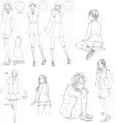 Clothing, Folds and Movement Sheet 12...via deviantart