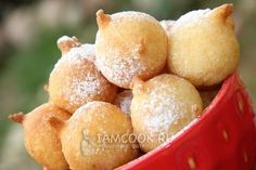 Фото воздушных пончиков на кефире