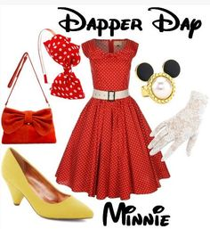 Step Out In Style at Disney During Dapper Day