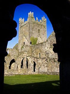 ✭ Jerpoint Abbey in Kilkenny, Ireland