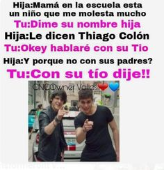 CON SU TÍO DIJE !!! Su tío está mejor ❤️ First Grade Homework, Memes Cnco, Latin Artists, Boy Bands, Fandoms, Humor, My Love, Celebrities, Funny