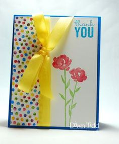 Stampin' Up Painted Petals