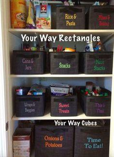 Thirty One Organization, Pantry Organization, Organizing Tips, Organized Pantry, Pantry Ideas, Decluttering Ideas, Pantry Storage, Organising, Storage Bins
