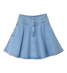 Résultats de recherche d'images pour «jupe tencel jeans québec» Marie Claire, Jean Skirt, Jeans, Casual, Skater Skirt, Silhouette, My Style, Skirts, Images