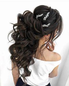 Hair Accessories Bridal hair pins-Wedding hair pins-Pearl hair pins-Crystal hair pins- Hair pins bridal - Set of 2 pearl hair pins-Gold bridal hair pins Wedding Hair Pins, Bridal Hair Vine, Wedding Hairstyles For Long Hair, Wedding Hair And Makeup, Bride Hairstyles, Headpiece Wedding, Bridal Tiara, Long Bridal Hair, Hairstyle Ideas