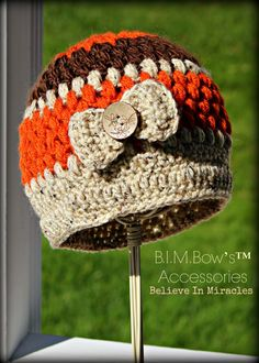 Crochet Girl's Hat Crochet Hats for Girls by BIMaccessories, $20.00
